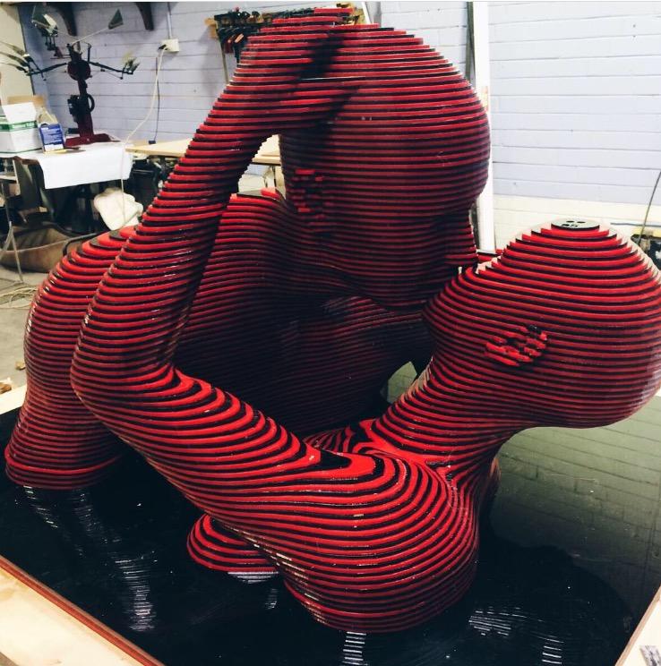 3D Acrylic Lovers