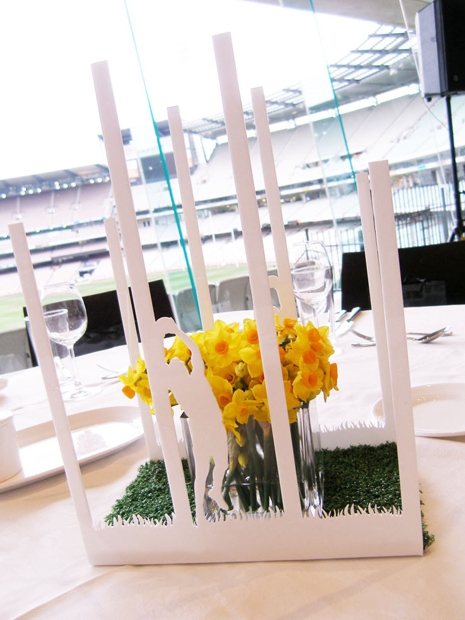 AFL Table  Centrepiece