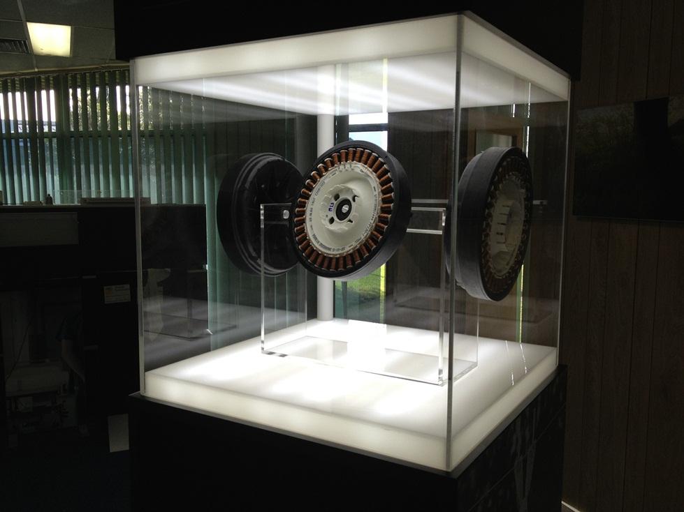 Acrylic Lightbox Display Cabinet